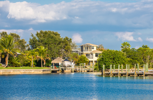 Florida canal homes for sale